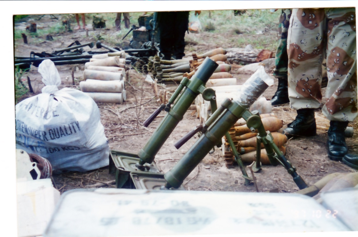 Mortars and other munitions